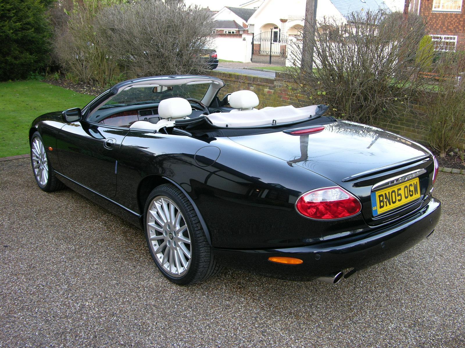 Rudys Autotek - Jaguar XK8 100 Black