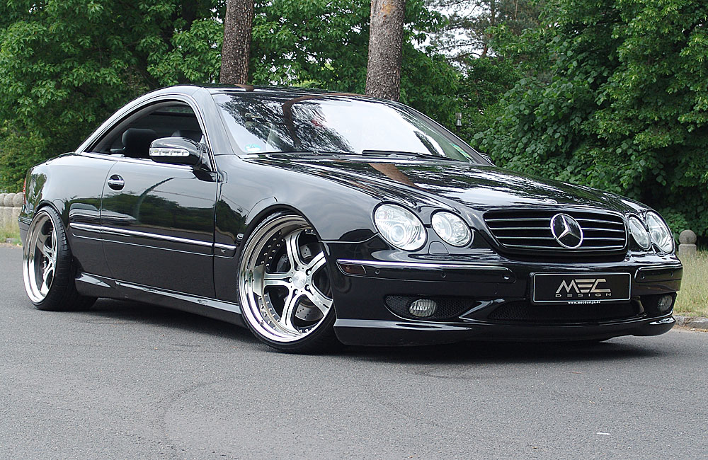 Rudys Autotek - Mercedes Benz CL500 Black
